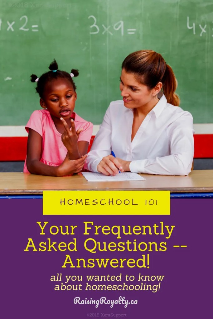 You are thinking about homeschooling but have questions. Is it legal? How do you start? Here's a list of frequently asked questions about homeschooling.