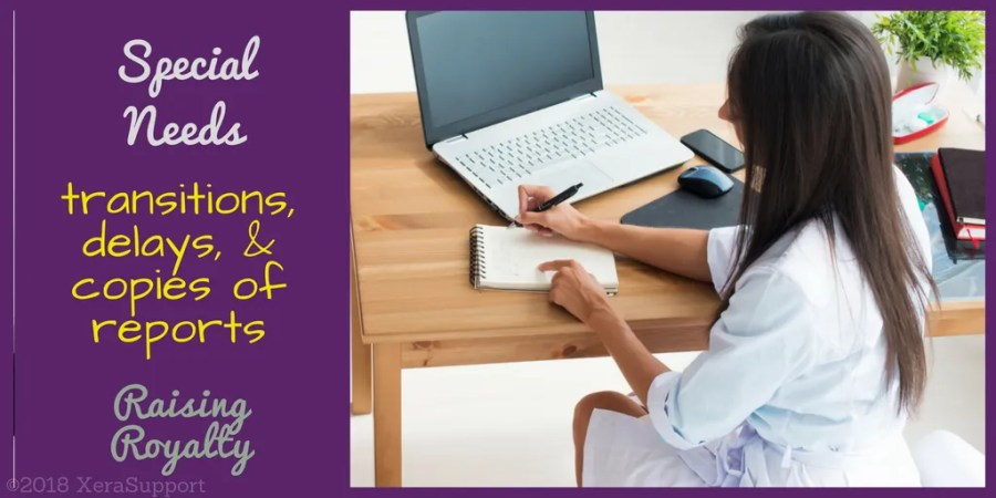 Getting the copy of report and assessment for your special needs child