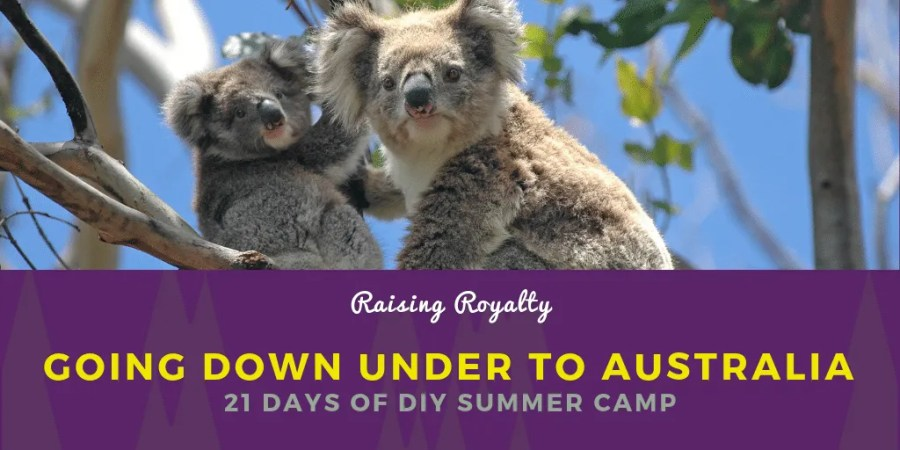 On day 17 of 21 Days of DIY Summer Camp, we're headed down under to play with Australian animals. But be careful. Some of these are dangerous!