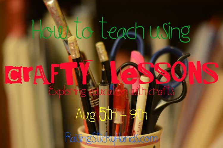 How to teach using CRAFTY LESSONS Exploring education with a craft