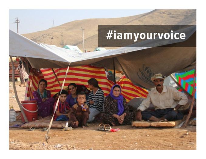 #IAmYourVoice