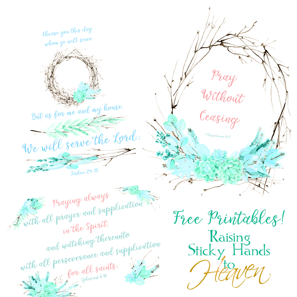 Scripture Prints - FREE PRINTABLES!
