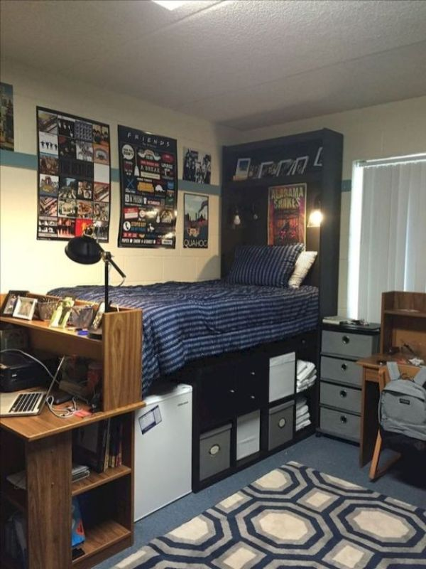 20 No-Fuss Dorm Rooms for Guys - Raising Teens Today on Teenage Room Colors For Guy's  id=22967