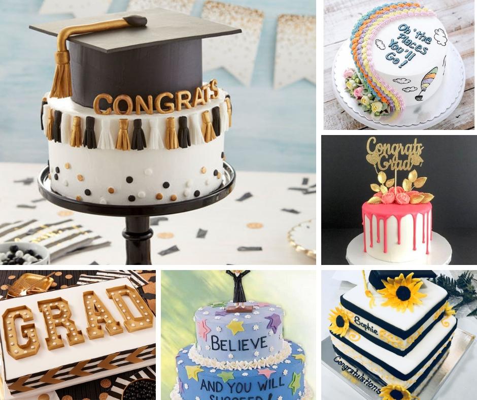 33 Graduation Cake Ideas Your Grad Will Love