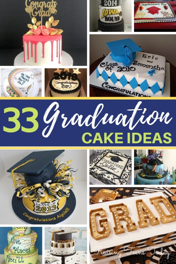 For Fun Festive And Even A Few Frivolous Ideas Here Are 33 Inspirational Graduation Cake Your Grad Will Love