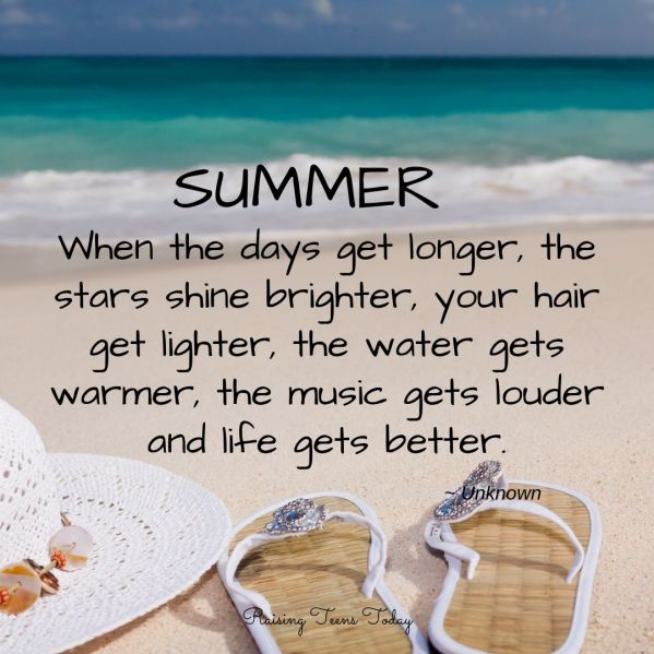 25 Best Summer Quotes | 25 Summer Quotes For Lazy Days In