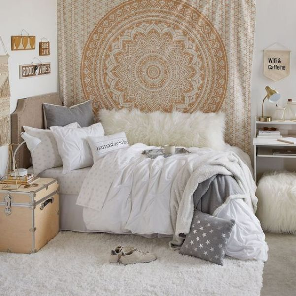 22 Gorgeous Neutral Dorm Room Ideas Raising Teens Today