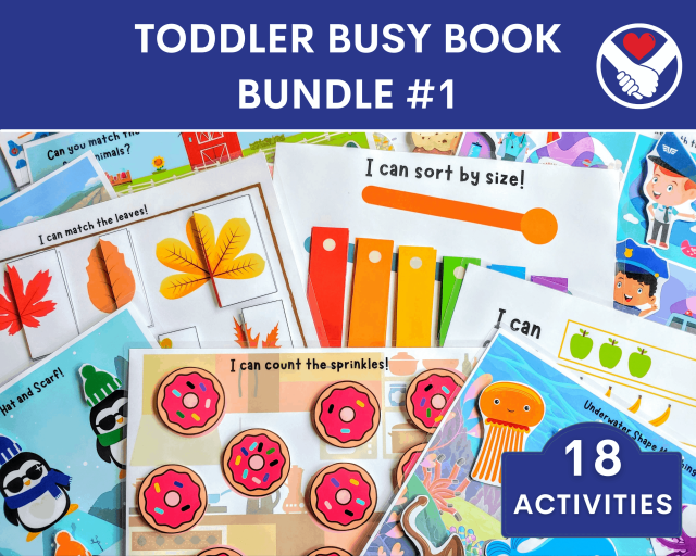 Toddler Busy Book - Etsy Thumbnail