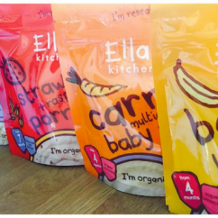 Ellas Kitchen Baby Food Cat Review Ella S Cereal Range Raising The Rings Good In Every Sense Weaning Rice Muesli Suitable From 4 Months
