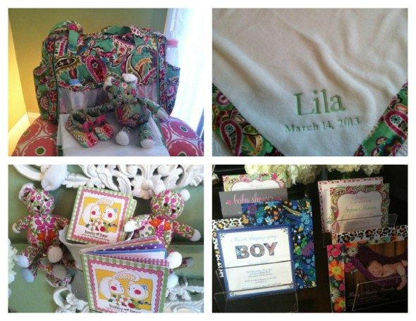 Vera Bradley Baby Collection
