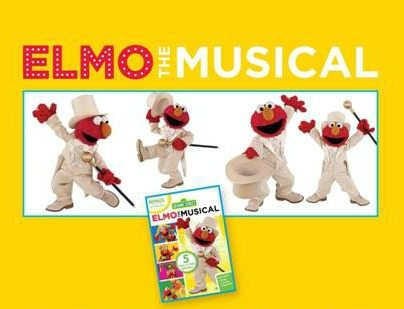 New DVD: Elmo the Musical Giveaway