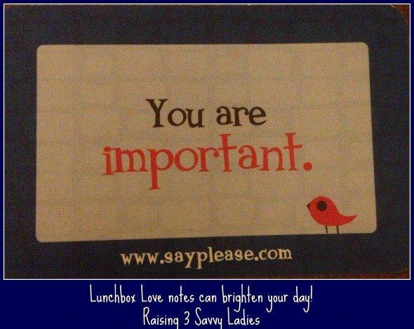 lunchbox love #LBLmoms