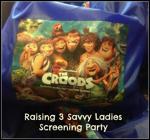 the croods party #TheCroodsDVD @FHEInsiders