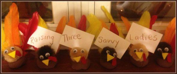 Kiwicrate turkey placecards