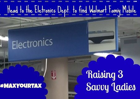 a walmart family mobile electroncis dept  #shop