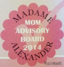 madame Alexaner Mom Advisory Board