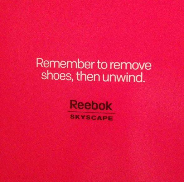 reebok skyscape words of wisdom