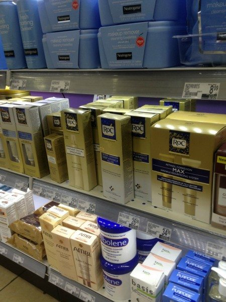 Roc Duane Reade shelf  #shop