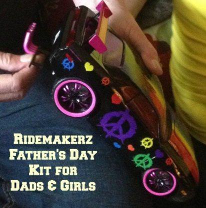 a ridemakerz peace sign car