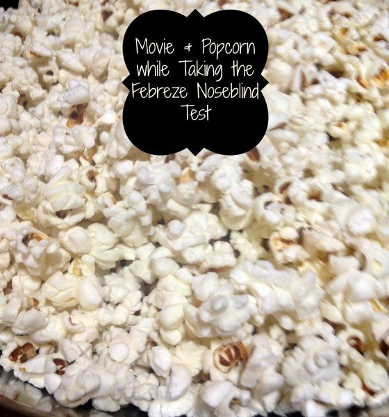 Febreze Noeseblind Test Popcorn