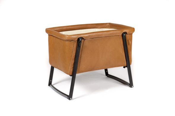 Babyhome Leather Bassinet
