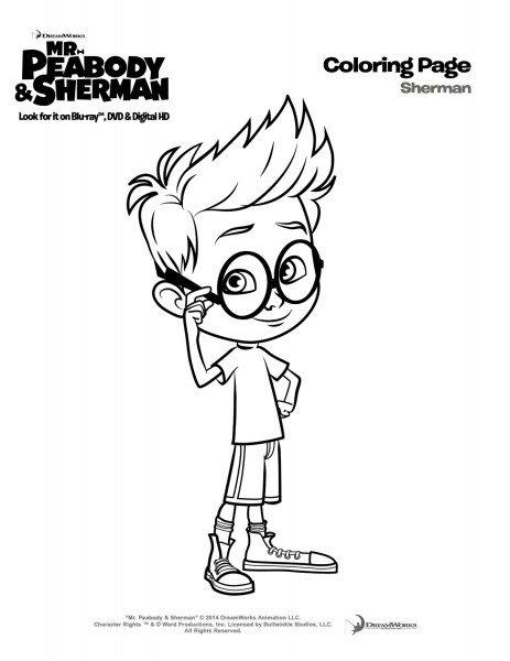 Win a Mr. Peabody & Sherman Blu-Ray/DVD