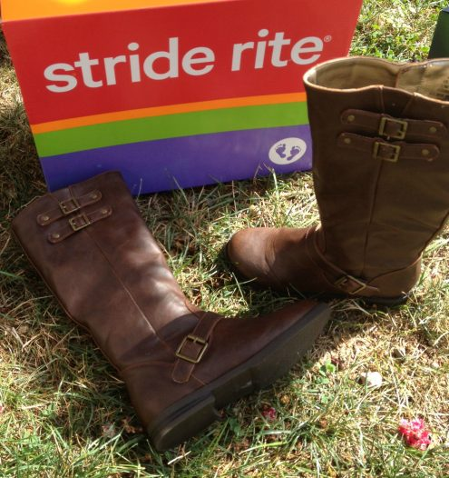 Stride Rite Brown Buckle Boots for Girls