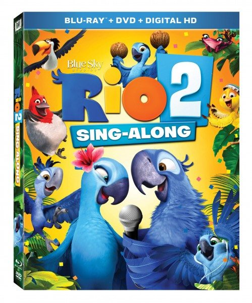 Rio 2 Sing-A-Long Blu-Ray/DVD Giveaway