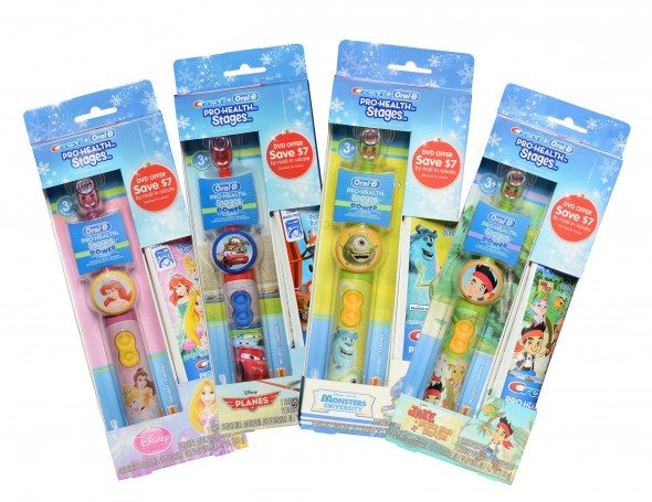 Crest® + Oral-B® Pro-Health Stages™4 Toothbrushes #Giveaway