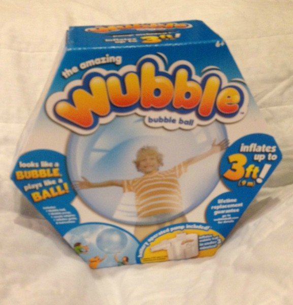 a Wubble Ball