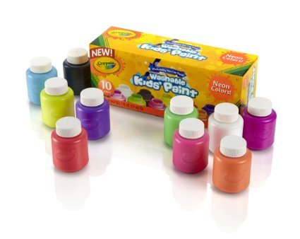 a crayola washable paint