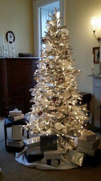 Bartow Pell Snow Book Inspired Tree