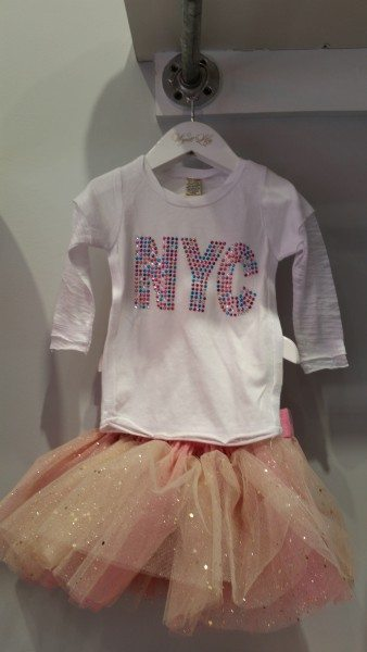 NYC tee for kids
