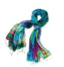 A World Vision Royal Silk Scarf