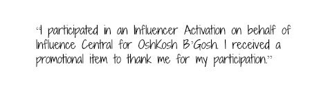 Disclosure OshKosh