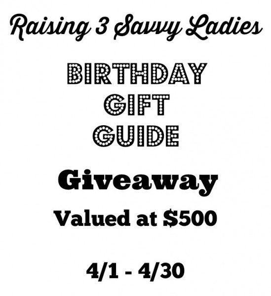 Birthday Gift Guide and $500 in Gifts #Giveaway