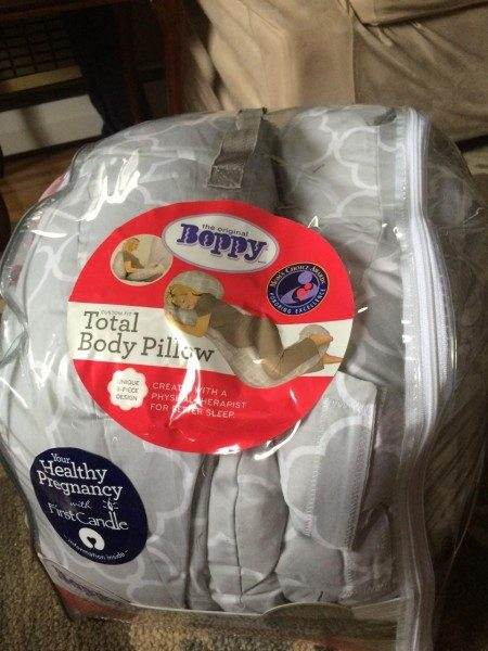 Boppy Total Body Pillow for Pregnancy