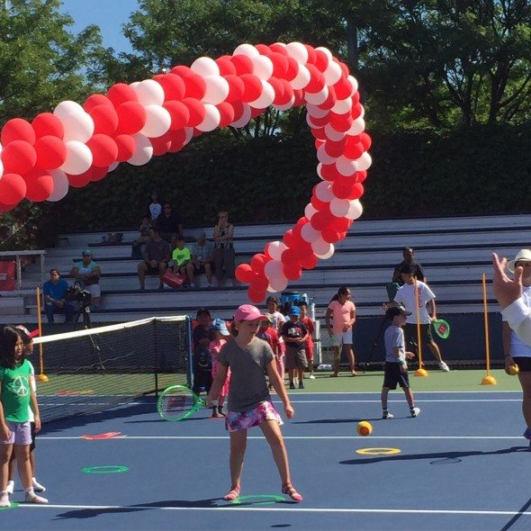 Coca Cola GEt Fit and Play ARthur Ashe Day