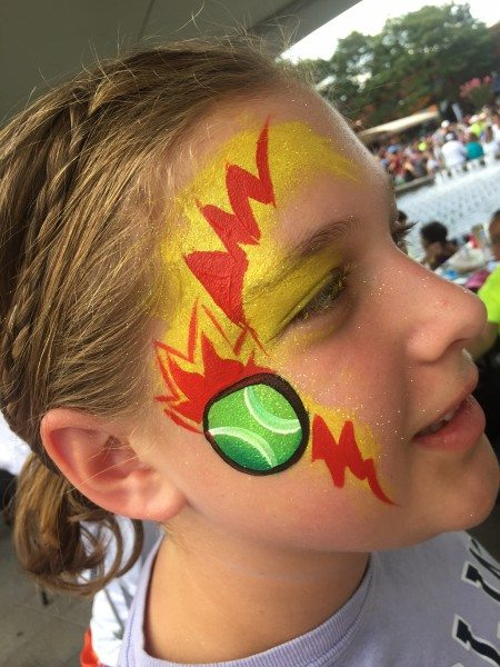 Face Painting Arthur Ashe Day