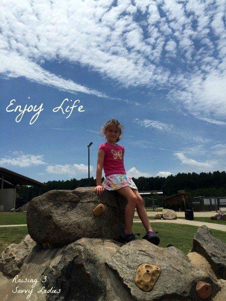 #LiveBrighter Enjoy Life