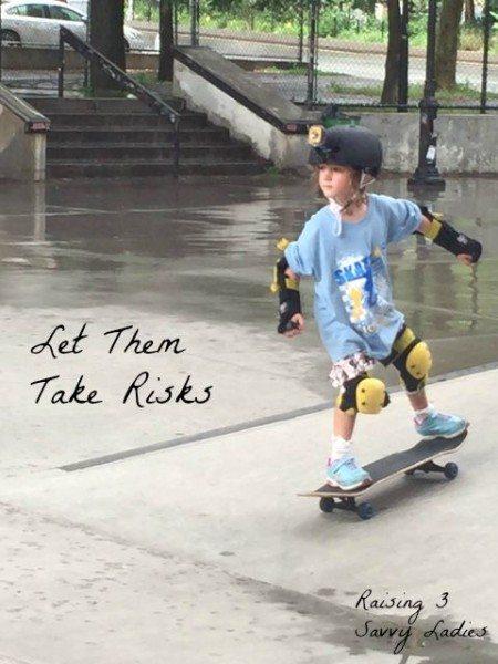 #LiveBrighter Let Them Take Risks