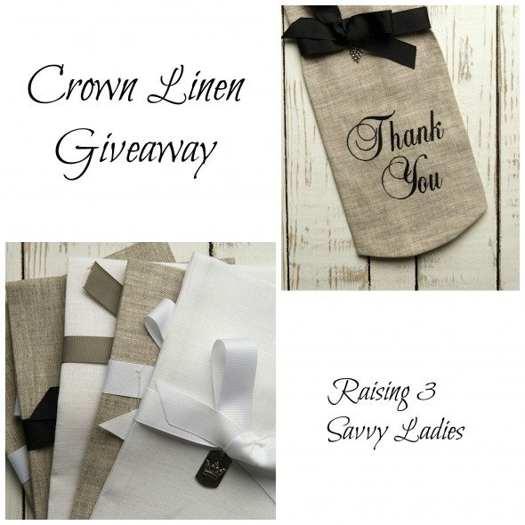 Crown Linen Collage