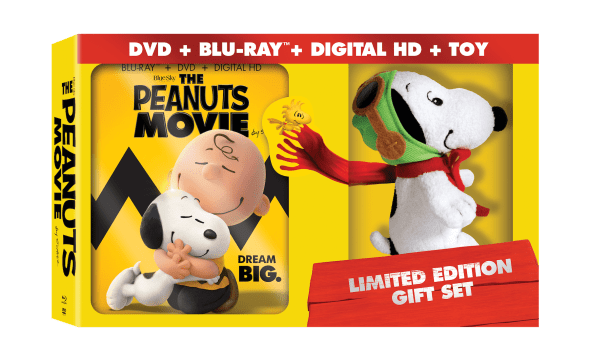 The Peanuts Movie Limited Edition Gift Set