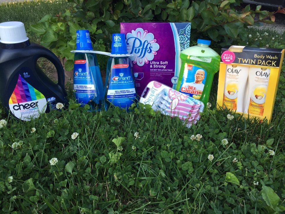 P& G products to stock up on