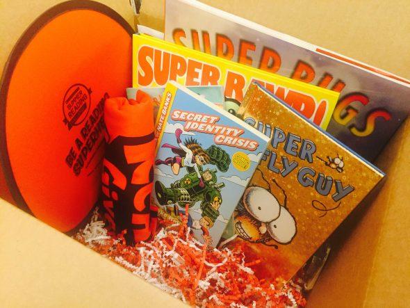 Scholastic Book Summer Giveaway