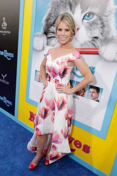 """Cheryl Hines seen at EuropaCorp Presents the World Premiere of """"Nine Lives"""" at TCL Chinese Theatre on Monday, August 1, 2016, in Los Angeles. (Photo by Eric Charbonneau/Invision for EuropaCorp/AP Images)"""
