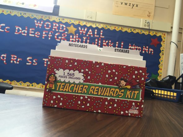 Teacher Rewards Kit