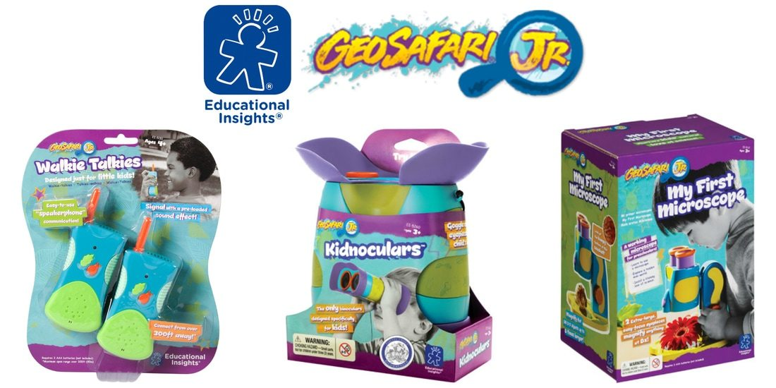 Win a toy from Educational Insights GeoSafari Jr. in US Japan Fam's Spring Goodies for the Kiddies Giveaway!