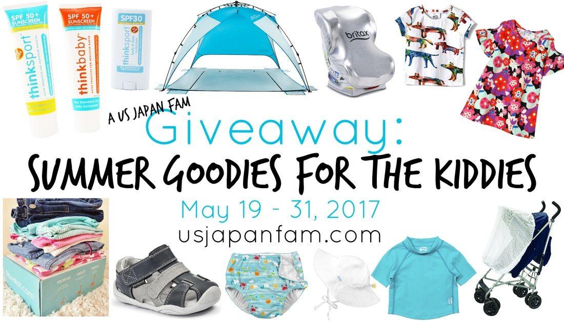 Win $360 in summer kids gear in US Japan Fam's Summer Goodies for the Kiddies Giveaway #SGFTKGiveaway!!