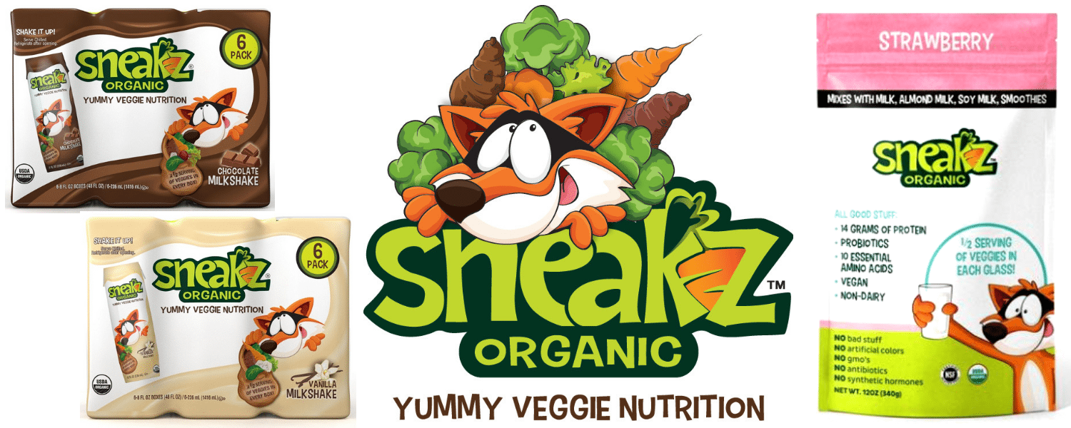 Sneakz Organic Milkshakes - in US Japan Fam's $600 Value Fall Family Favorites Giveaway